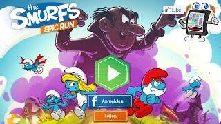 DIE SCHLÜMPFE Epic Run #2 Deutsch App - The Smurfs Game - SCHLÜMPFE BEFREIEN! Spiel mit mir