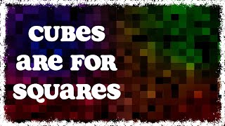 Holly Tatnall - Cubes Are For Squares (Lyric Visualizer)