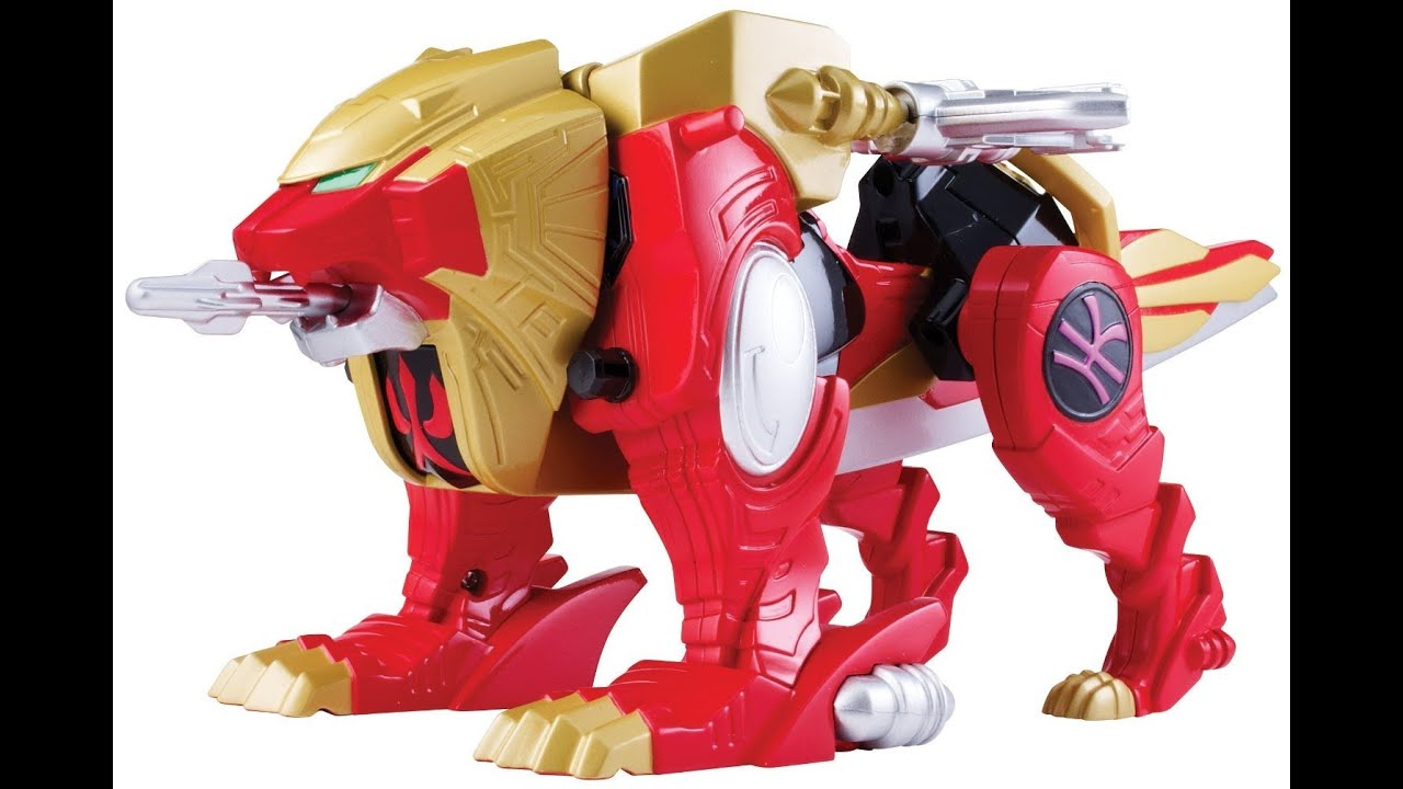 Red Lion Zord - Power Rangers Super Megaforce - YouTube