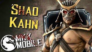 ОБЗОР: ШАО КАН ЗАВОЕВАТЕЛЬ • Mortal Kombat X Mobile