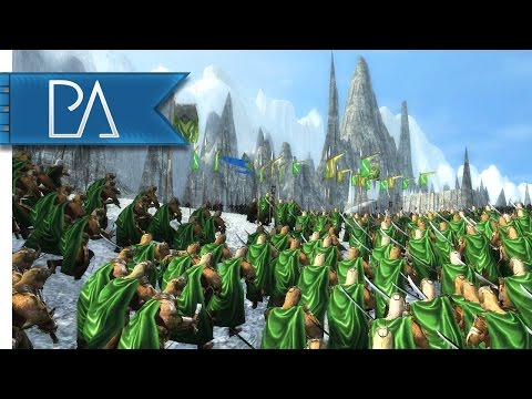 Siege Of Mount Gundabad: Witch King's Stand - Third Age Total War: Reforged Gameplay