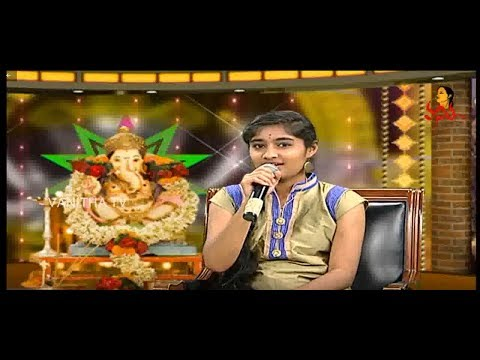 GanapathiNimarjanam Special with Singers  Bye Bye Ganesha  Vanitha TV