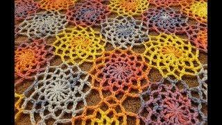 The Wildflower Wrap Crochet Tutorial!