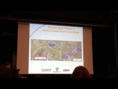 I-395 HOT Lanes Extension Information Meeting - VDoT