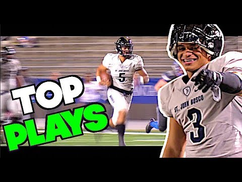 🔥🔥 #1 Team In The Nation St John Bosco v Santa Margarita - UTR Top Plays
