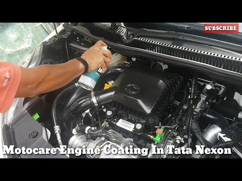 TATA Nexon -How to Clean and Shine Ur Engine Bay with Motocare and Service Plus.