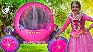 Little Princesses Super Episode - The Pink Princess Carriage and The Teamwork Lessons