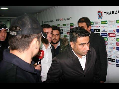 Trabzonspor maçı hakemleri Avni Akerden 4 saat sonra çıkabildi