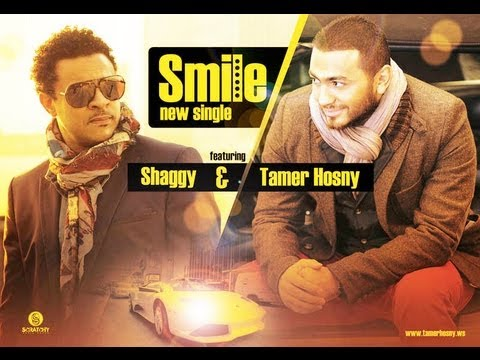 Smile remix Tamer Hosny FT Shaggy ريمكس تامر حسني و شاجي 2012