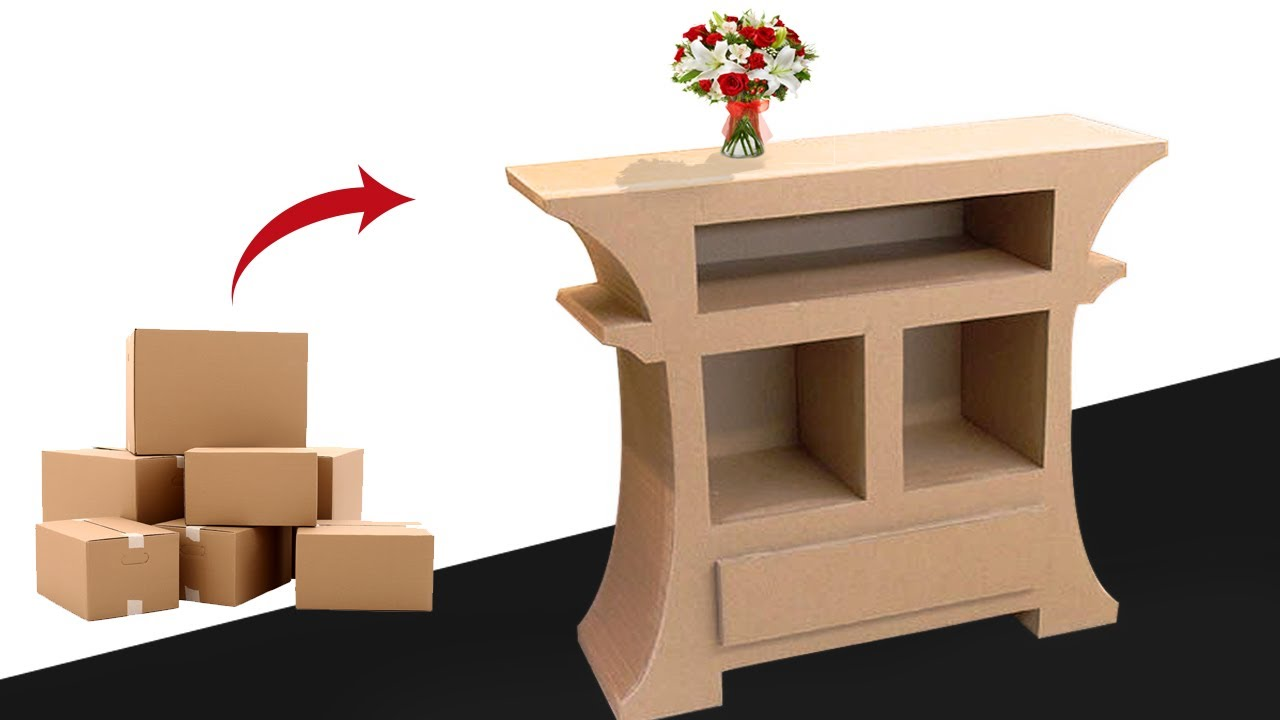 How To Make Amazing Furniture Diy Using Cardboard Very Simple