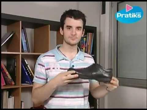 Clip hướng dẫn đánh giày da bằng vỏ chuối - YouTube.MP4