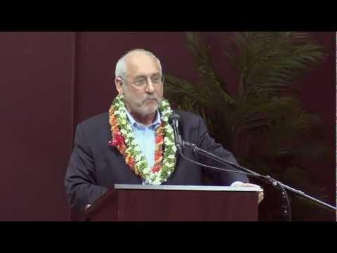 Joseph Stiglitz - UH Manoa - March 13, 2012
