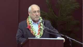 Joseph Stiglitz - UH Manoa - March 13, 2012