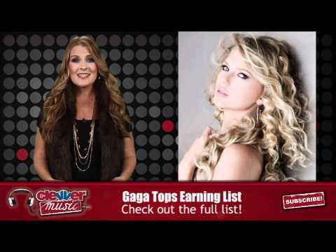 Lady Gaga Top Earning Female Artist 2011