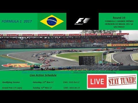 RACE DAY-FORMULA 1 GRANDE PRÊMIO HEINEKEN DO BRASIL 2017 @ São Paulo