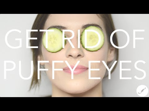 Home Remedies for Puffy Eyes -- Destination Femme