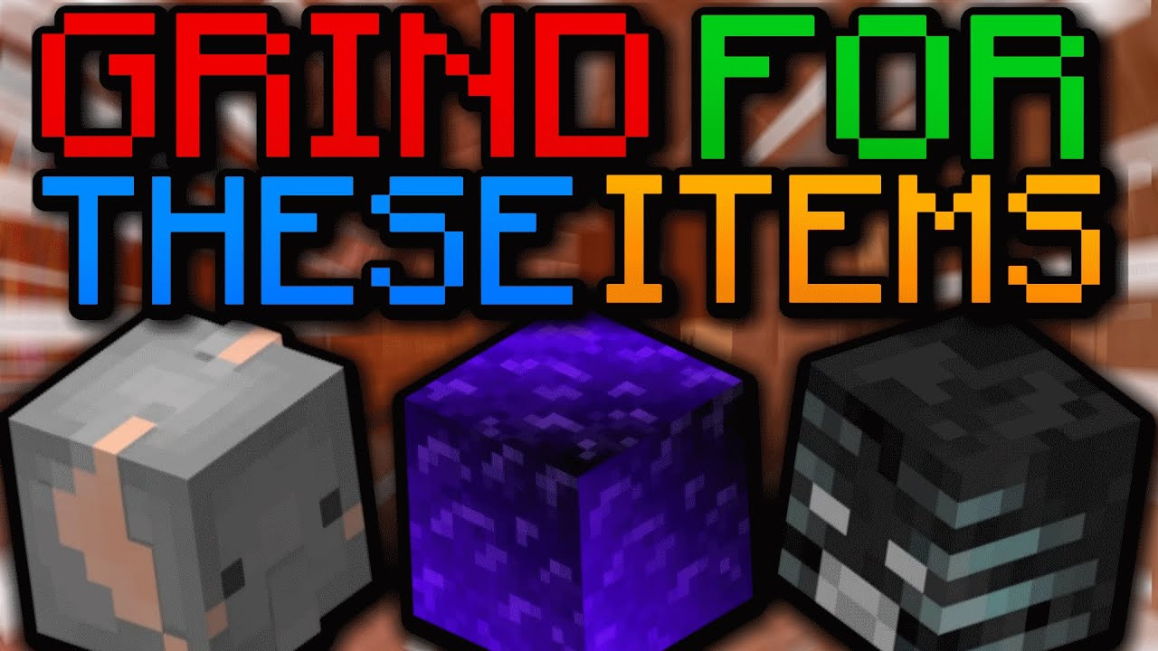 GO GRIND FOR THESE ITEMS - (Hypixel Skyblock)