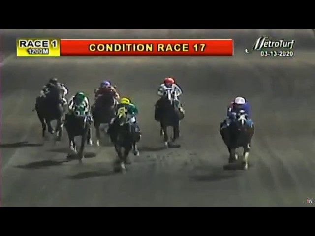 LADY OF PEACE - RACE 1 MMTCI HORSE RACING REPLAY - MARCH 13, 2020 - BAYANG KARERISTA HORSE RACING