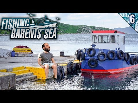 LLEGANDO A NUEVO PUERTO | Fishing: Barents Sea | Gameplay Español