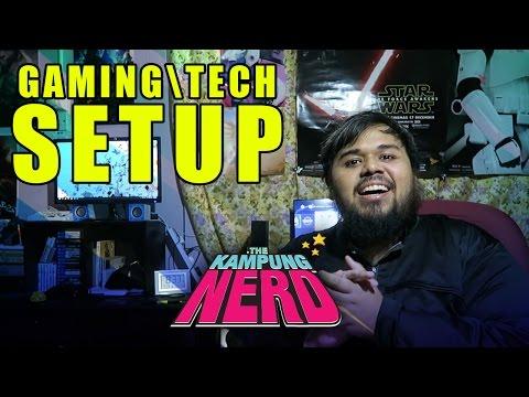 Gaming/Tech Setup  | The Kampung Nerd
