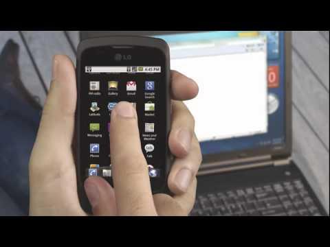 LG Optimus One P 500 USB Tethering