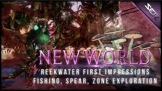 New World MMO ► NEW REGION Reekwater Full Special Event (Fishing, Points of Interest, Spear Combat)
