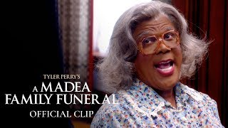 "Tyler Perry's A Madea Family Funeral (2019 Movie) Official Clip - ""O.G.M.A.D.E.A."""