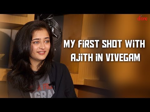 My first shot with Ajith in Vivegam.... : Akshara Haasan | Exclusive Interview | D'one