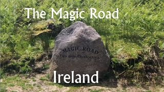 UNSEEN IRELAND -THE MAGIC ROAD Waterford where cars MYSTERIOUSLY roll UPHILL