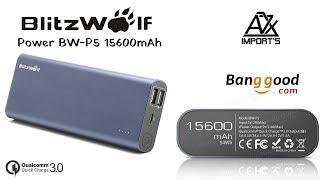 Power bank MONSTRA BlitzWolf® BW-P5 15600mAh