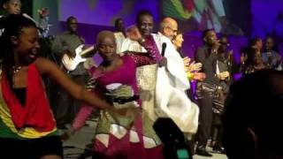 Angelique Kidjo, Youssou NDour and the Mo Ibrahim Foundation celebrate Africa