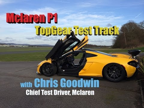 Mclaren P1 on TopGear™ Test Track with Chris Goodwin: Hot Lap Madness 😊