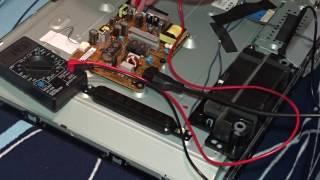 Ремонт LED TV LG 32LN540V Диагностика, разборка матрицы
