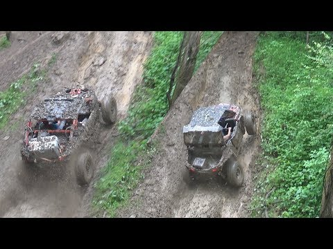 CAN-AM X3 VS POLARIS RZR VS CAN-AM MAVERICK HILL CLIMB