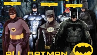 All Batman (Almost) - Fight Scenes Comparison