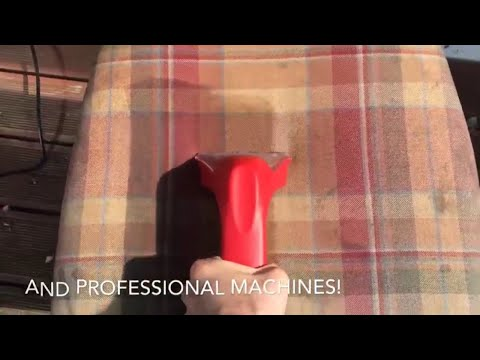 ML Luxury Cleaning: Dried-in staints removal from a chair
