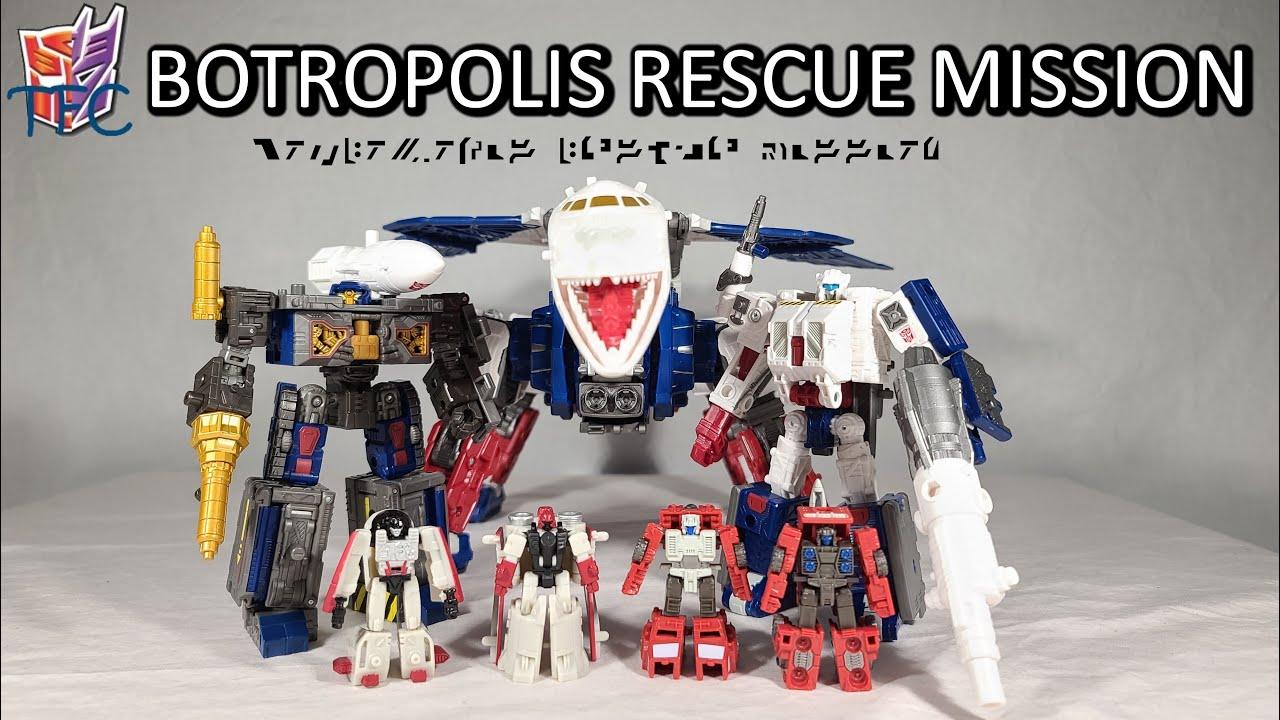 TF Collector Earthrise Botropolis Rescue Review!