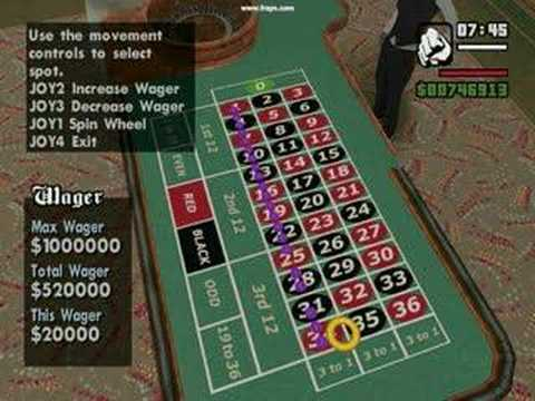 Grand theft auto san andreas gambling cheat casino film soundtrack