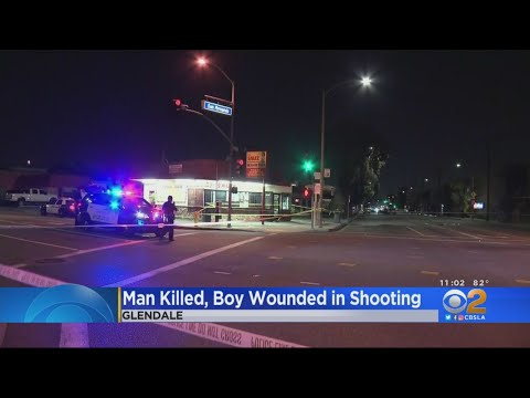 Man Killed, Boy Wounded At Taco Stand Shooting In Glendale