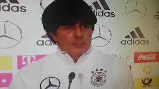 Joachim Löw vor dem Spiel Nord Irland vs Deutschland