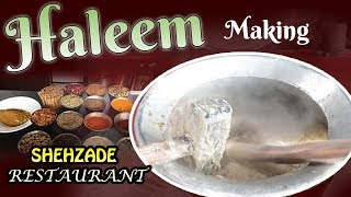 Haleem Making Shehzade |Myra Media|