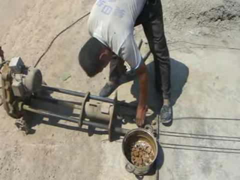 120mm hollow core slab making machine MP4