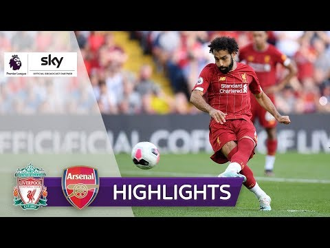 Salah trifft doppelt! | FC Liverpool - FC Arsenal 3:1 | Highlights - Premier League 2019/20