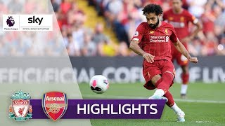 Salah trifft doppelt! | FC Liverpool - FC Arsenal 3:1 | Highlights - Premier League 2019/20