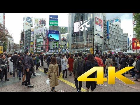 Walking around Shibuya - Tokyo - 渋谷を歩く- 4K Ultra HD 🗼 🏙  🇯🇵