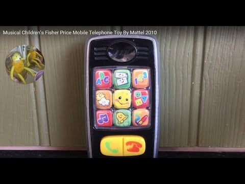 Musical Children's Fisher Price Mobile Telephone Toy By Mattel 2010