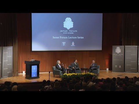 Janus Forum Lecture Series: Is Humanity Progressing? with Paul Krugman and Steve Pinker