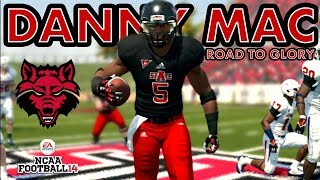 NCAA Football 14 Road To Glory- Running Back Danny Mac (Episode 23)