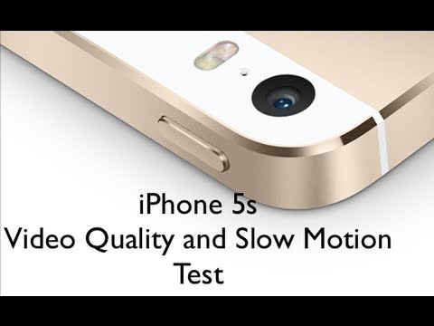 iphone slow motion camera iphone 5s and motion quality test 15461