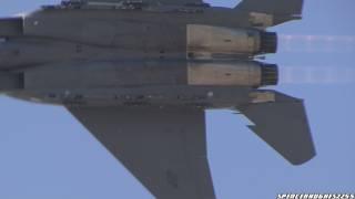 2011 fort worth alliance air show f 15e strike eagle demo